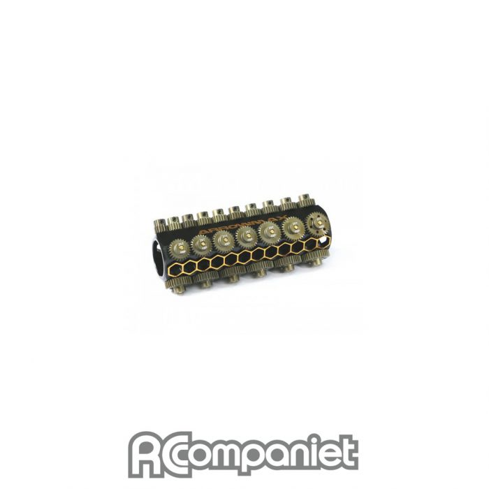 Set of 28 Alloy Pinions 48DP & Caddy 15T-42T
