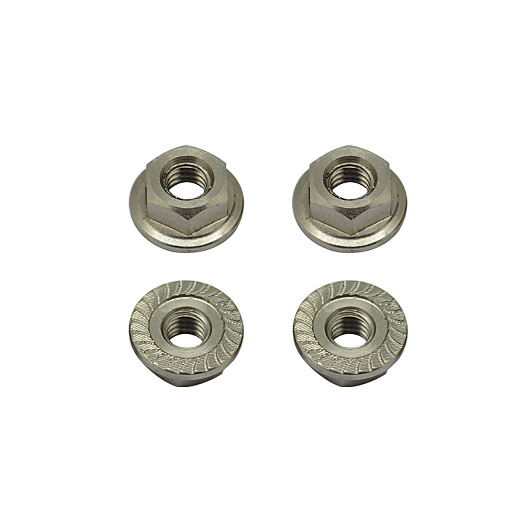 Titanium Wheel Nuts M4 - pk4