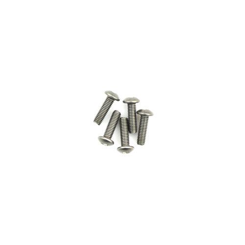 Titanium Button Head Hex Screws M3 x 10 pk10