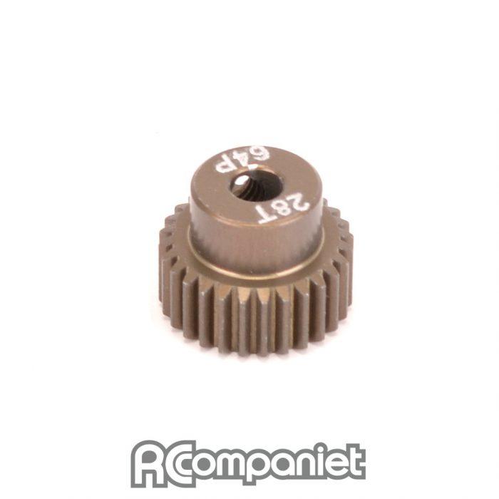 Pinion Gear 64DP 28T (7075 Hard)