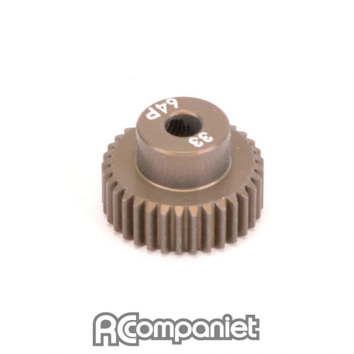 Pinion Gear 64DP 33T (7075 Hard)