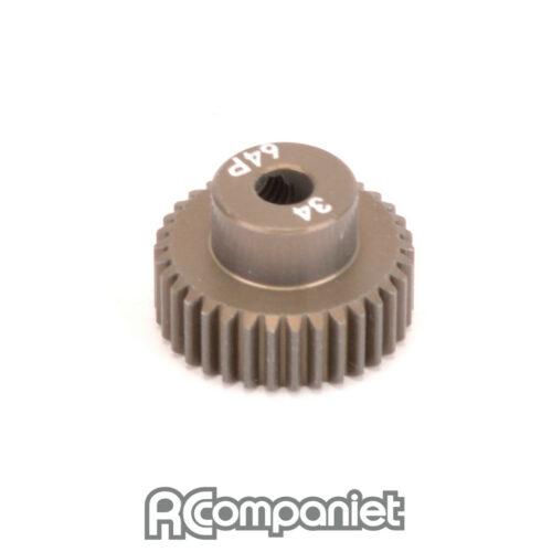 Pinion Gear 64DP 34T (7075 Hard)