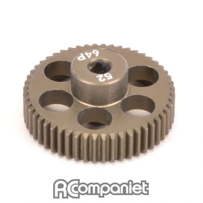 Pinion Gear 64DP 52T (7075 Hard)