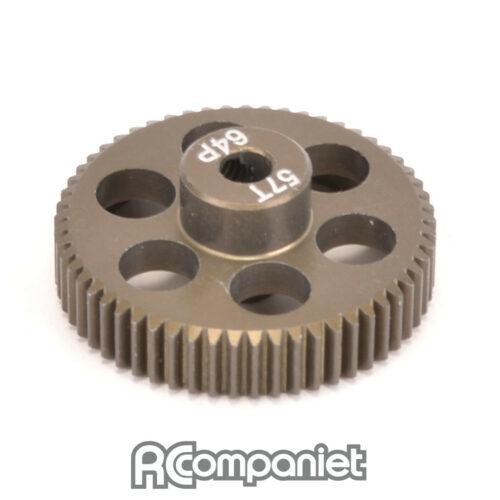 Pinion Gear 64DP 57T (7075 Hard)