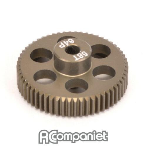 Pinion Gear 64DP 58T (7075 Hard)