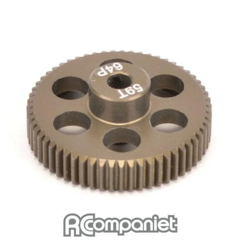 Pinion Gear 64DP 59T (7075 Hard)