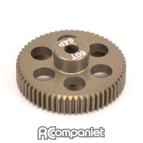 Pinion Gear 64DP 60T (7075 Hard)