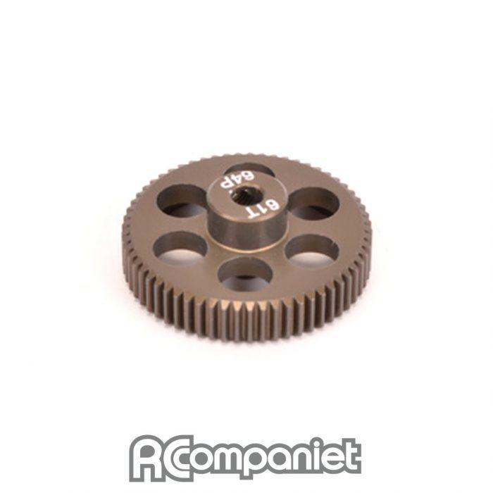 Pinion Gear 64DP 61T (7075 Hard)