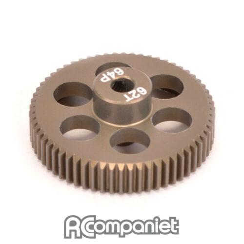 Pinion Gear 64DP 62T (7075 Hard)
