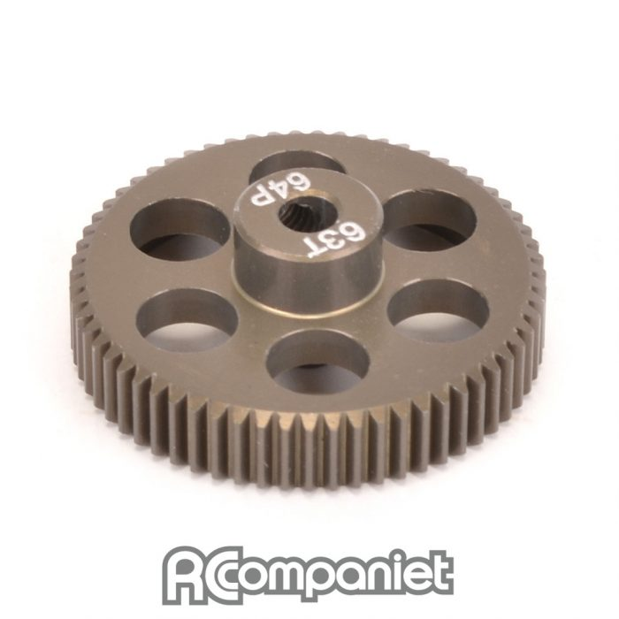 Pinion Gear 64DP 63T (7075 Hard)