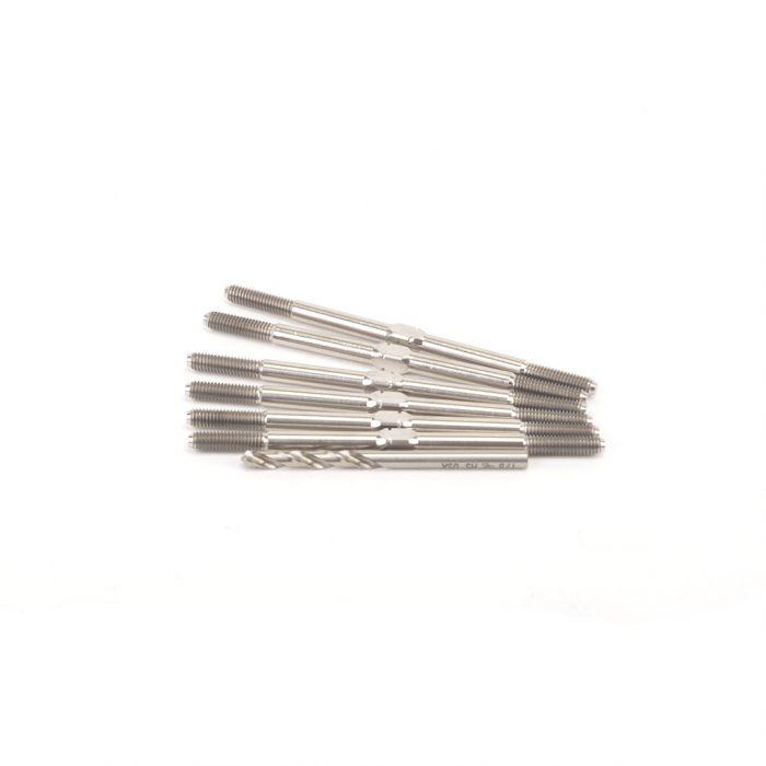 KLINIK RC Sch 2020 Storm XD 3.5mm Ti T/Buckles