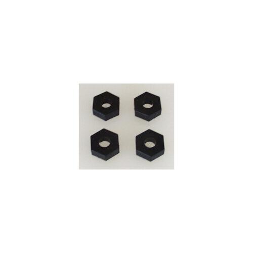 Wheel Hex ; pin axle - SST  (pk 4)