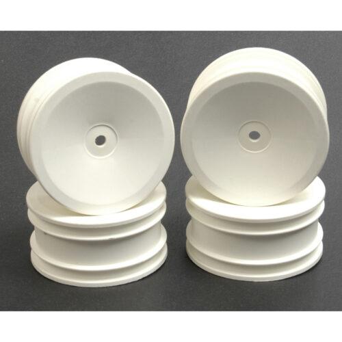 Wheel; Dish 25mm - White (Pk4)