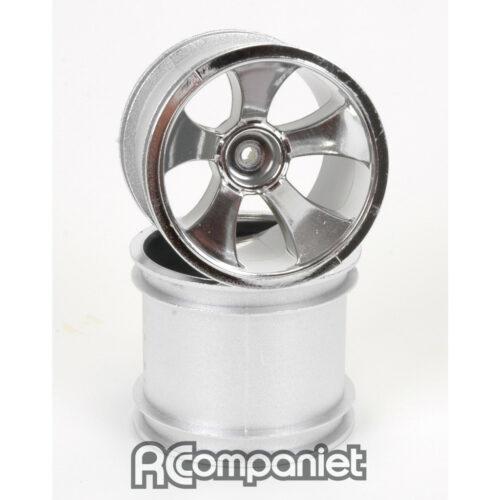 Chrome Wheel; 5 Spoke - XTR (pr)