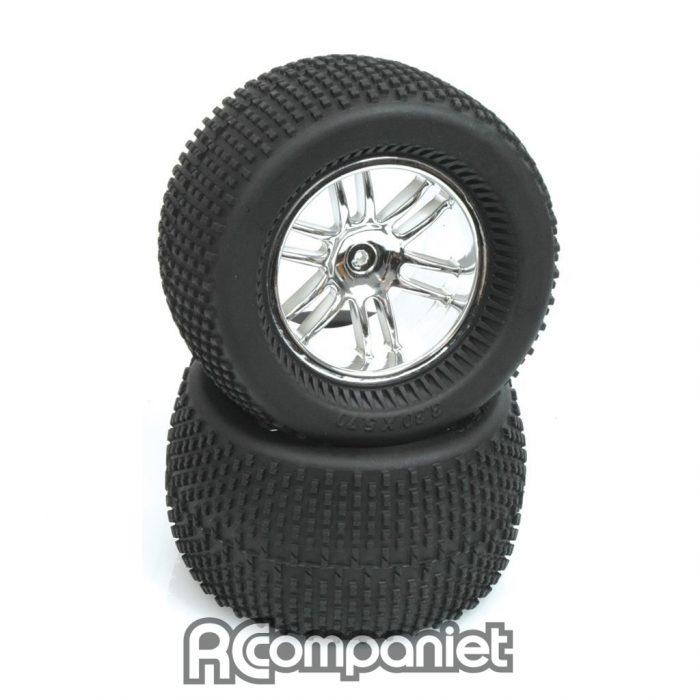 Chrome Wheel; Tyre and Insert - Havoc (pr)