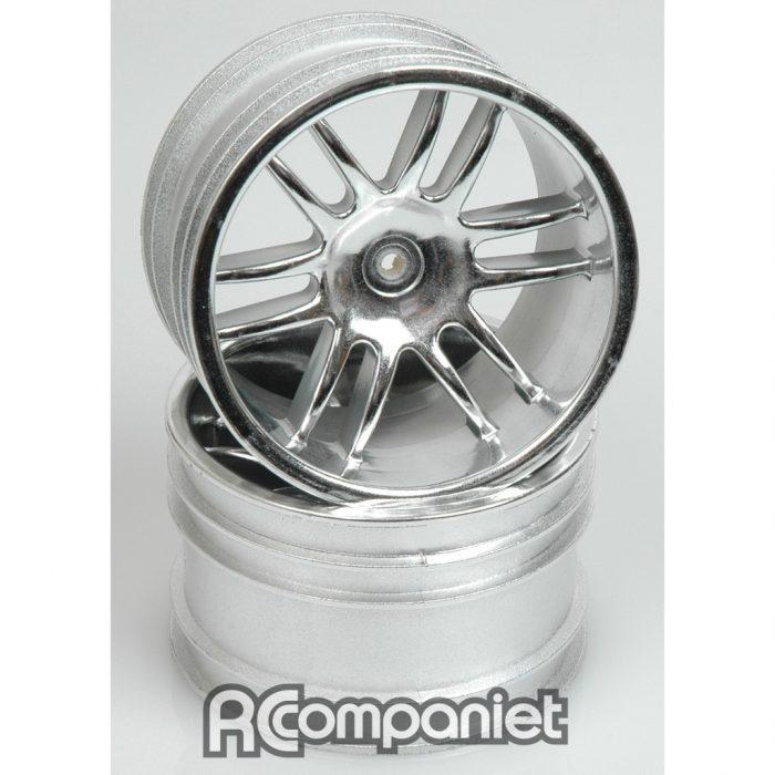 Chrome Wheel; 12 Spoke - Havoc  (pr)