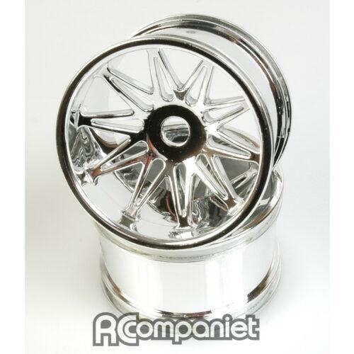 Wheel; Chrome 10 spoke - Manic pr