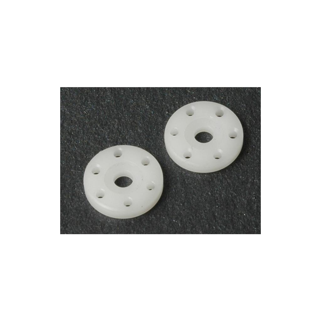 Big Bore Piston; 6 Hole White 1.5  (pr)