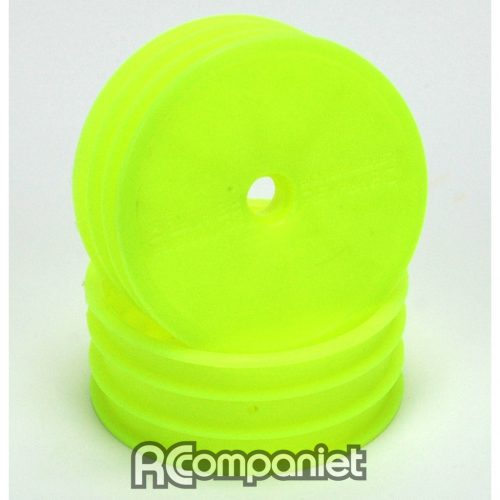 Wheel; Med Front Fluro Yellow - 2WD