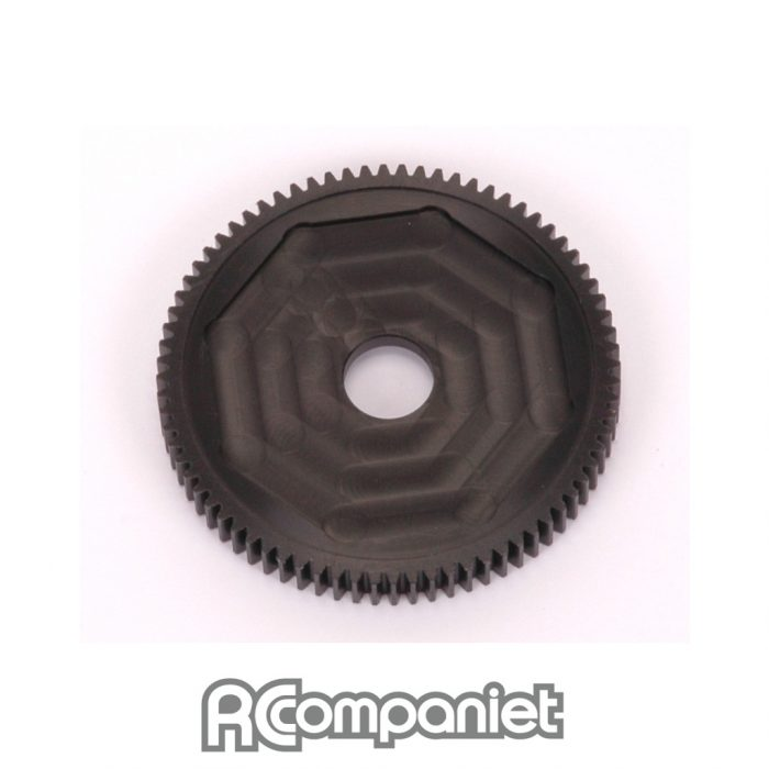 Gear; CNC 76T Spur - Slipper