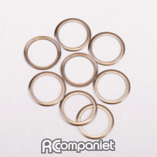 S/Steel Shims 1/4x5/16x0.004-SS/At/Ecl
