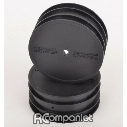 Wheel; Front Black - CAT K1 - pr