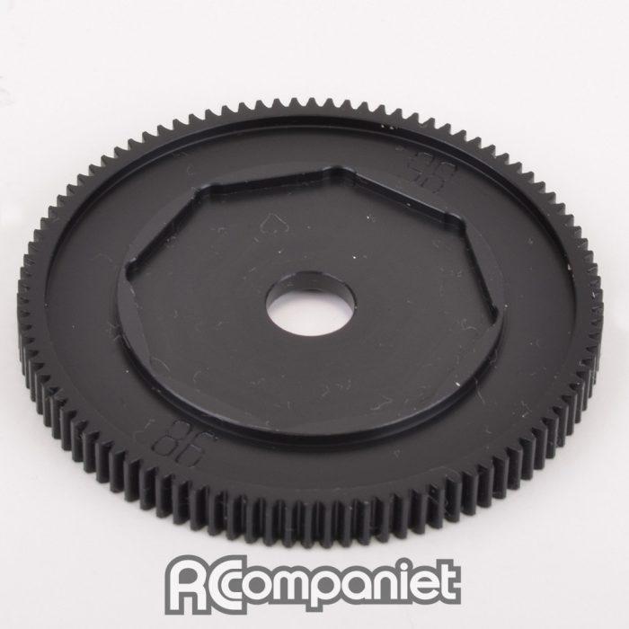 Gear; CNC 98T Spur - Slipper