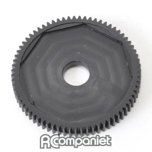 Gear; CNC 71T Spur - Slipper