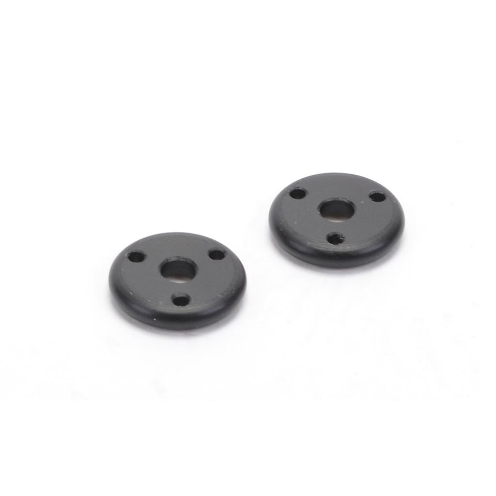 Big Bore Piston - 3 Hole Black 1.6 Rounded (pr)