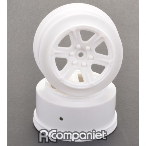Short Course Wheel - White +3 offset pr