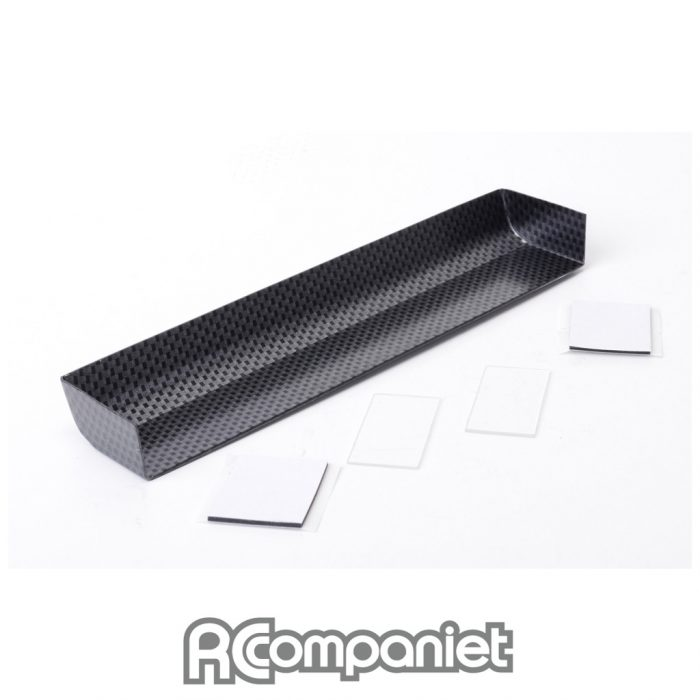Touring Car Wing + 2 End Plates - Carbon