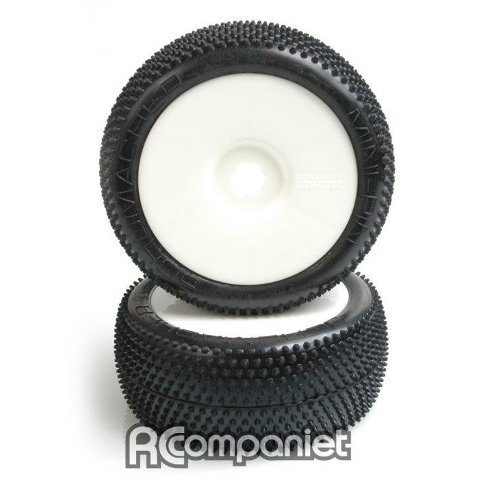 MINI PIN 1/8th Pre-Glue - Silver  (pr)