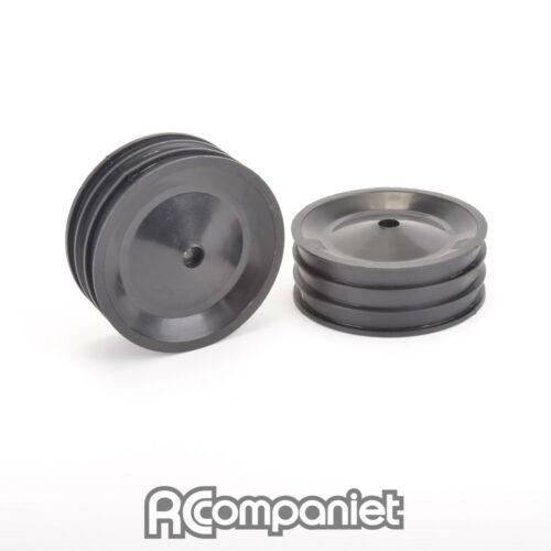 Front Wheel Black (pr) - CAT XLS