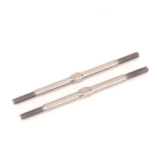 Titanium Turnbuckle - 60mm - Silver - pr