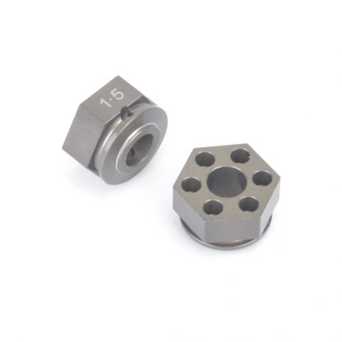 Alloy Wheel Hex 7.5mm pr - LD,L1/EVO,ST