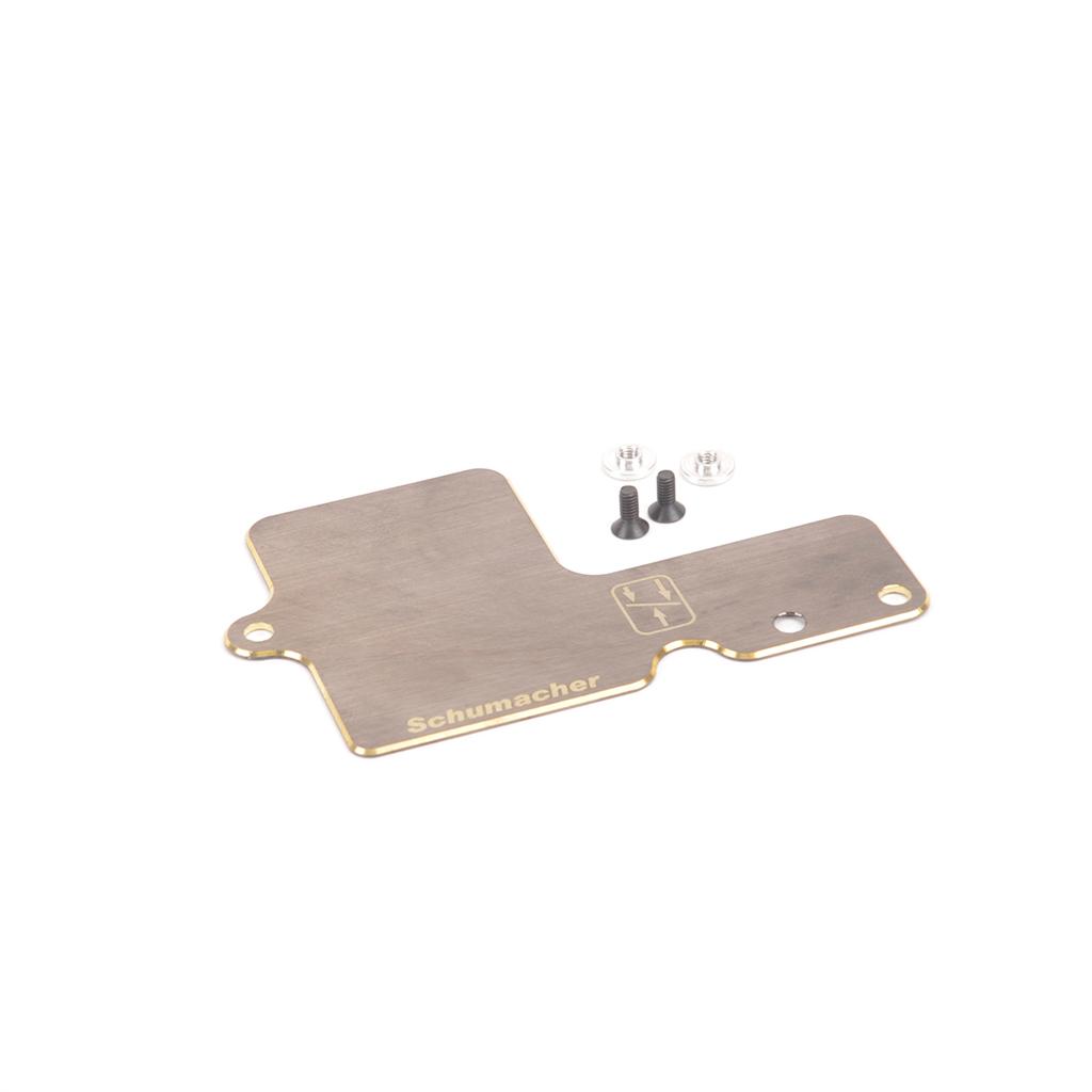 Brass Receiver Tray - L1 EVO